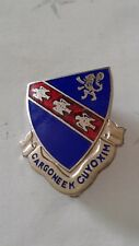 Authentic US Army 147th Infantry Regiment Unit DI DUI Crest Insignia IE