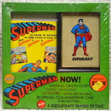 SUPERMAN NOW! ORIGIN STORY GOLDEN RECORDS SET FACTORY SEALED MIP Vintage 1966