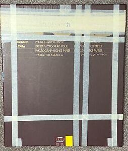 """Ilford Multigrade FB Warmtone Semi-Matt 20x24"""" (50.8x61cm ) 14 Sheets Plus Tests"""