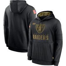 Las Vegas Raiders Football Hoodie 2020 Salute to Service Sideline Men Pullover