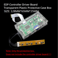 LED/LCD controller board transparent plastic protective case For EDP driver box