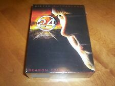 24 Complete 4th Season 4 Four Keifer Sutherland TV Widescreen DVD SET NEW Sealed