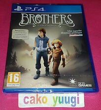 BROTHERS A TALE OF TWO SONS SONY PS4 NEUF SOUS BLISTER VERSION FRANCAISE