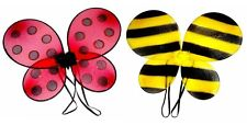 A Beautiful Net Ladybird, Bumble Bee Wing Fancy Dress For All Parties