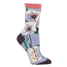 Blue Q I Say Do It Women's Casual Sock (5-10)
