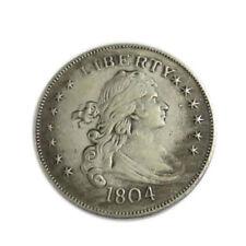 1804 Silbermünzen 39mm Durchmesser Unzirkuliert König American Brass Core