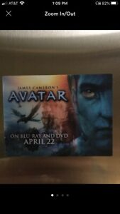 Avatar Lenticular Sticker James Cameron Chris Pratt