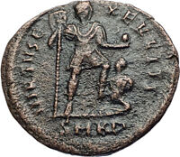 ARCADIUS Tramples CAPTIVE 383AD Cyzicus Authentic Ancient Roman Coin i68073