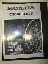 Honda CBR 600 F Honda Manual De Servicio Modelos 1991 1994
