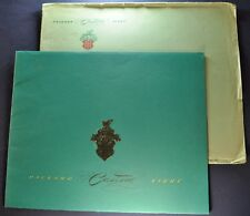 1948 Packard Custom Prestige Catalog Brochure + Envelope Excellent Original 48