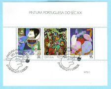 Gemälde des 20. Jahrhunderts Block 73 Portugal