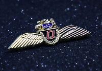 WING Pin QANTAS AUSTRALIA AIRLINE WINGS metal Pilot Crew 60mm / 2.3inch Replica