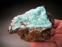 Aurichalcite and Calcite Crystals, Ojuela Mine, Mexico
