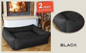 BedDog XXL Black - Durable,Washable,Waterproof,Scratch Proof,Memory Foam Effect