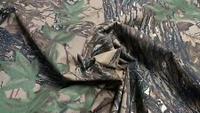 "REALTREE ORIGINAL VINTAGE 59""W COTTON SHIRTING CAMOUFLAGE FABRIC BY THE YARD"
