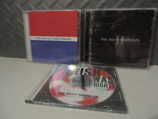 RIGHT BROTHERS CD LOT OF 3 I II AND SINGLE BUSH WAS RIGHT RARE 2005 PRIVATE PRES