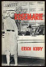 Erich KUBY / Rosemarie First Edition 1959