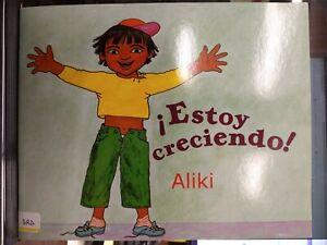 Estoy Creciendo! Aliki McGraw Hill Edu DLM Express in Spanish PB VG 210414