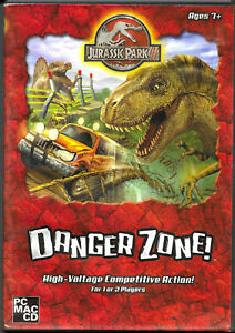 PC MAC CD - JURASSIC PARK 3: Danger Zone! - Game - Complete with Manual - VGC!