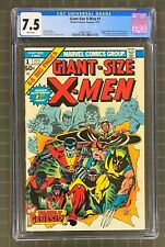 GIANT-SIZE X-MEN #1 Marvel Comics 1975 CGC 7.5 The New X-Men 1st Appearance