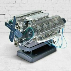 Haynes Build Your Own Replica Miniature V8 Engine Model Kit and Authentic Sounds