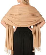Central Chic Women's Pashmina Shawl Wrap Scarf Large One Size *UK FAST DELIVERY*