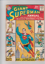 Superman Annual #6 (Winter 1962-1963, DC) G+