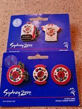 5 COCA COLA SYDNEY OLYMPIC TRADING  PINS