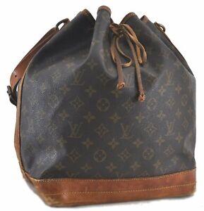 Authentic Louis Vuitton Monogram Noe Shoulder Bag M42224 LV C1185