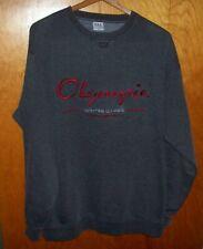 Vintage XL USA 2002 Olympic Winter Games Salt Lake City Gray Sweatshirt X Large