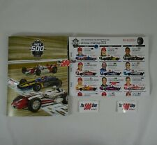 2021 Indianapolis 500 105TH Running Program With Starting Field Line-Up Insert