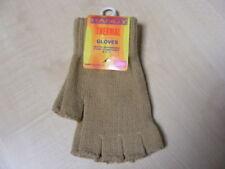 Gants et moufles mitaines marron taille unique pour femme