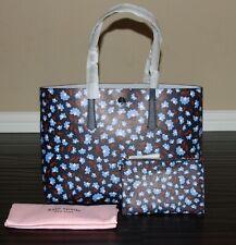 💚 Kate Spade Floral Molly Large Tote Bag Shoulder Purse & Wristlet Pouch Set
