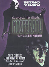 New NOSFERATU Restored & Authorized Edition DVD