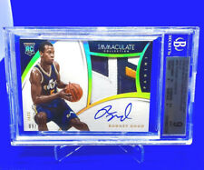 Rodney Hood 2014-15 Immaculate PREMIUM GOLD ROOKIE PATCH AUTO RC 09/10 RPA