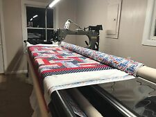 long arm quilting-quilt top E2E & custom. Please read description
