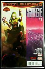 SIEGE, Secret Wars #1 Battleworld (2015 MARVEL Comics) NM - Comic Book