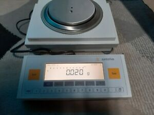 Sartorius LP1200S Special Edition Analytical Scale& YAC01LP Display, Pwr Supply