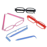 1pcs Random cute glasses cartoon creative spectacles ballpoint pens stationerySh