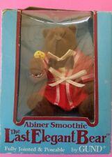 1983 Gund The Last Elegant Bear Un-open In Box Dennis Kyte Abiner Smoothie Teddy