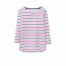 3/4 Sleeve Striped Cotton Jumpers & Cardigans for Women