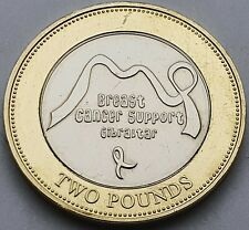 2019 Gibraltar Breast Cancer Support £2 coin - Uncirculated
