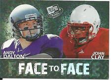 2011 Press Pass Refractor Andy Dalton rookie card, Cincinnati Bengals