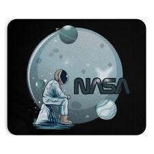 Astronaut Sitting On Space Rock NASA Design Cool Non Slip Mousepad