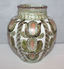 Stoneware British 1960-1979 Pottery Vases