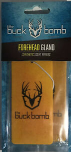 Buck Bomb #200019 1ea Pk of 3 Scent Wafers-Forehead Gland-SHIPS SAME BUS DAY-NEW