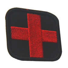 RED CROSS FIRST AID 3D HOOK PATCHES USA ARMY MORALE BADGE EMBRODIERED PATCH -07