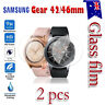 2x Samsung Galaxy Gear Watch 46/42mm S2 S3 Tempered Glass Screen Protector
