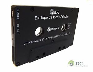 Bluetooth Music Audio Receiver Cassette Player Adapter Adaptor Dongle 4 Car Van