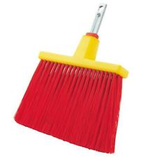 Wolf-Garten Multi-Change Flexi Broom Cleaning Tool Replacement Brush Head - Red